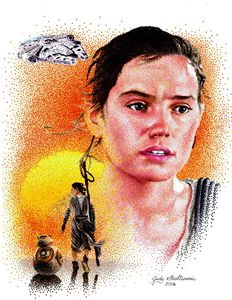 Rey from Star Wars