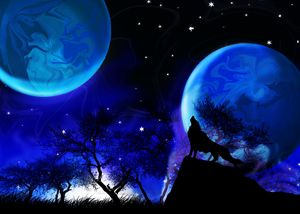 Midnight Of the Twin Planets