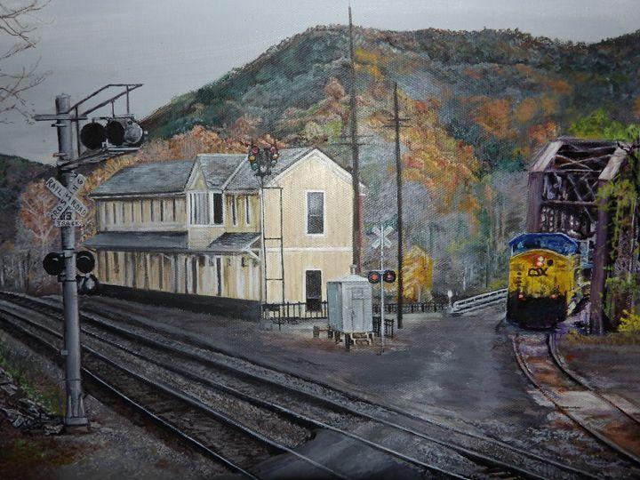 Thurmond Train station - Lori
