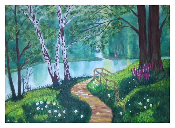 Forest Flowers - Art philosophy