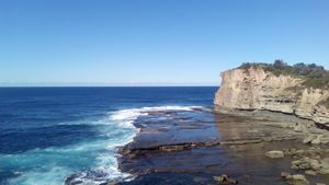 Terrigal, NSW, Australia, Cliff Face