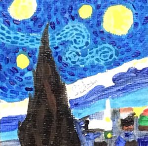 Starry Night Replica