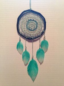 Turquoise Handcrafted Dreamcatcher