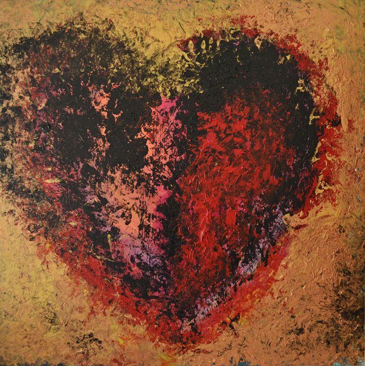 Burned heart - Monica Jansen