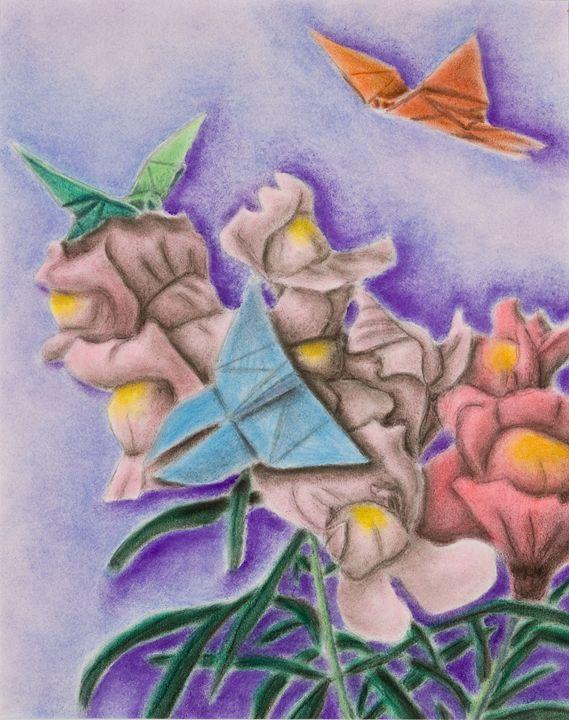 Origami Butterflies - JK Art Life