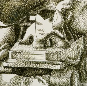 Crosshatch Still Life