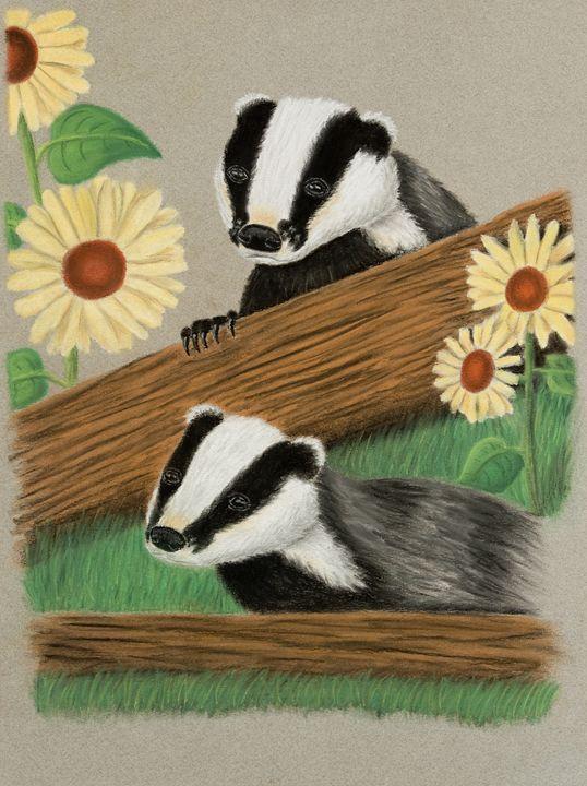 Badgers - JK Art Life