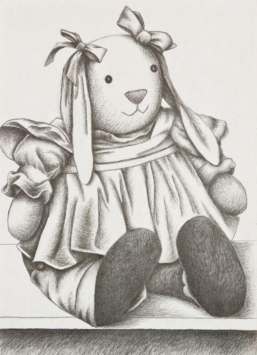 Bunny Rabbit - JK Art Life
