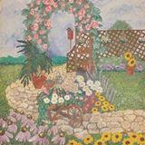 """""""Garden Scene"""""""