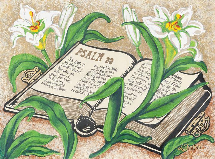 """""""The 23rd Psalm"""" - Linda D. Shelton's Paint Box"""