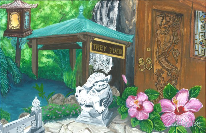 """""""Trey Yuen"""" - Mandeville, LA - Linda D. Shelton's Paint Box"""