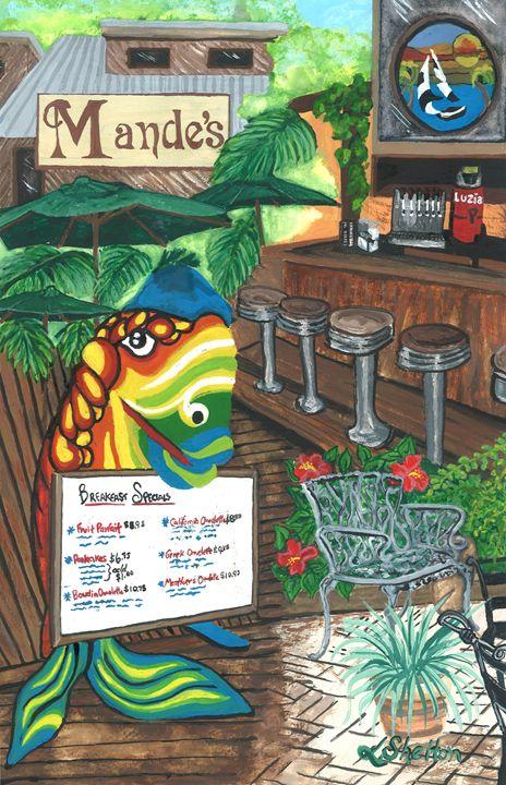 """""""Mandes"""" - Mandeville, LA - Linda D. Shelton's Paint Box"""