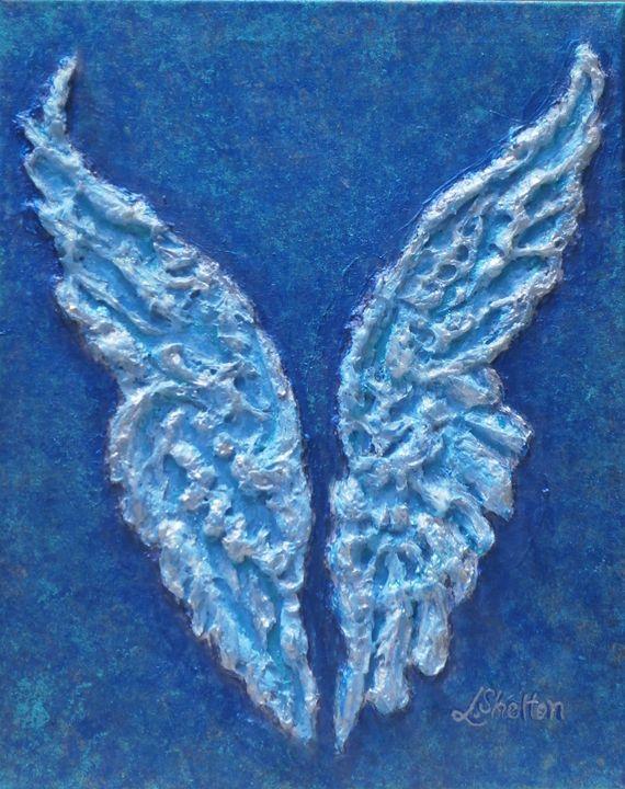 "*""Angel Wings I"" - Linda D. Shelton's Paint Box"