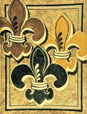 16 x 20 -  Fleur de Lis painting