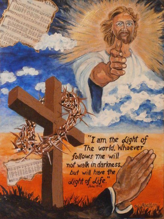 """*""""The Light of Jesus"""" - Linda D. Shelton's Paint Box"""