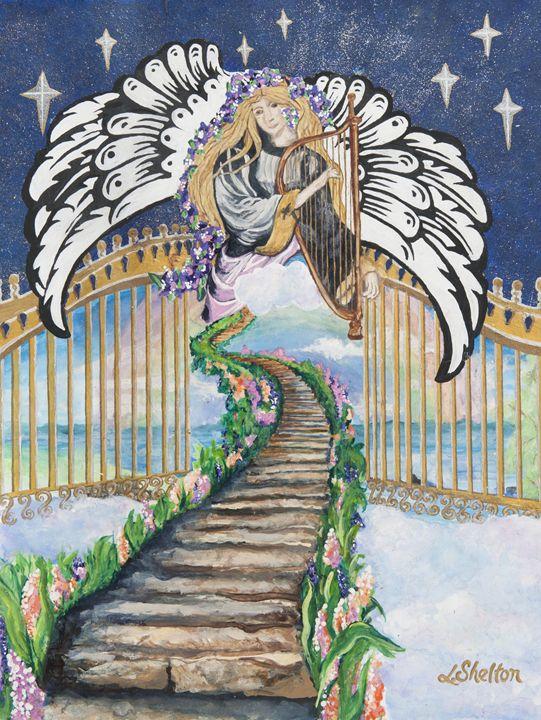 """Stairway to Heaven"" - Linda D. Shelton's Paint Box"