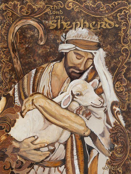 *The Lord is My Shepherd - Linda D. Shelton's Paint Box