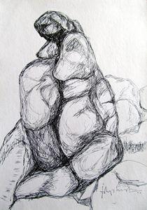 hampi series-drawing08