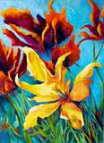 Original Oil by Mary Roberts