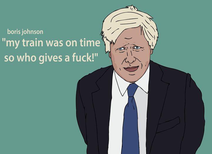 Boris Johnson - mrsuperbafrango