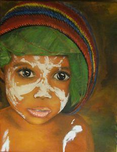 Little Tribal Girl