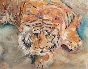Tiger by Lisa Bisbee Lentz