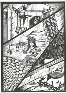 Manga warriors By Cyrus Davis