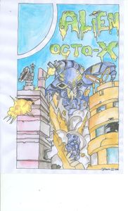Alien Octo-X  By Cyrus Davis