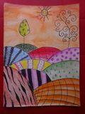 original JRA watercolor