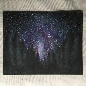 A Wooded Galaxy