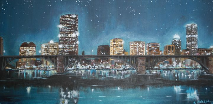 Starry Boston - The Art of Melissa Johnson