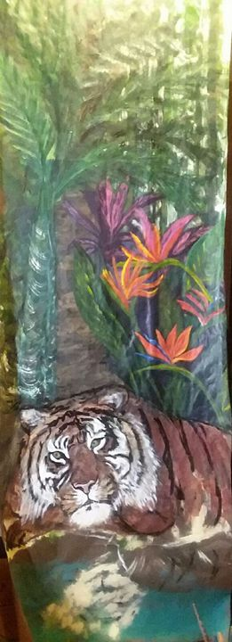 Resting Tiger - Art For the Master