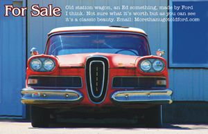 Edsel for sale