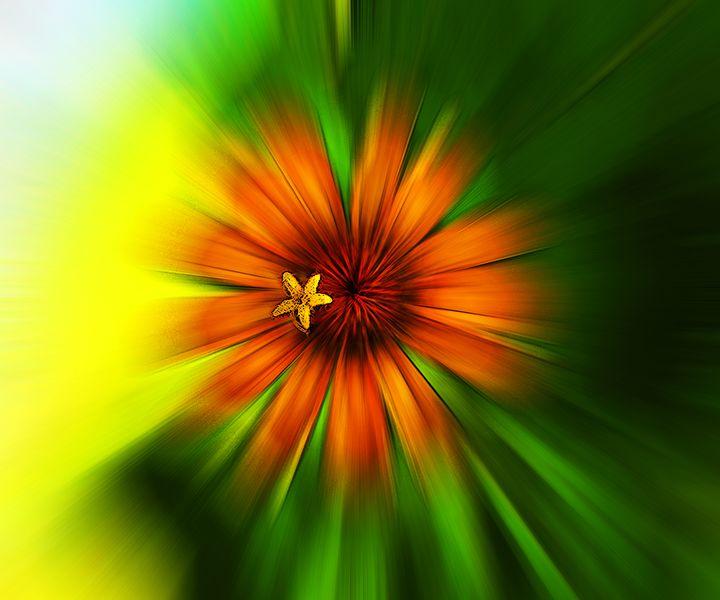 My Favorite Flower - Larry West Art