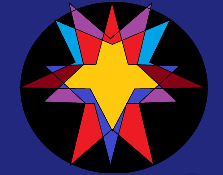 The Star of Love - Brandon's Original Art Gallery