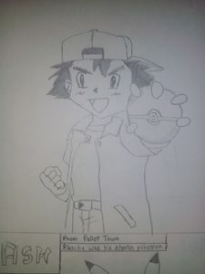 Ash (From Pokemon) !!! :) :)