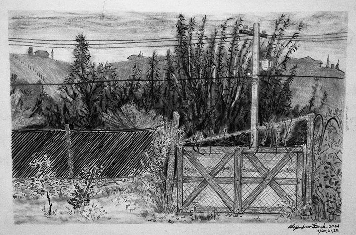 Random Gate in South America - Fonck Art