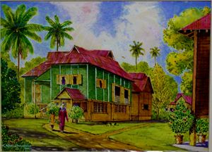 TRADITIONAL MALAY HOUSE 4