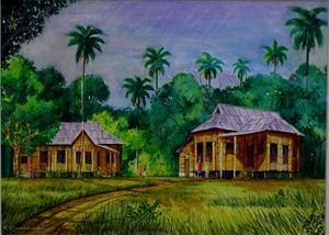 TRADITIONAL MALAY HOUSE 3