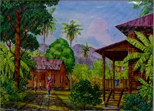 TRADITIONAL MALAY HOUSE 2