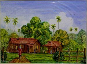 TRADITIONAL MALAY HOUSE 1