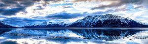 Mountain reflection Alaskana