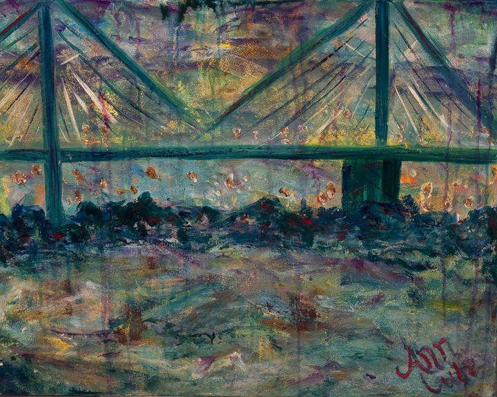 Savannah Bridge - Decorative Impressions by Ann Lutz