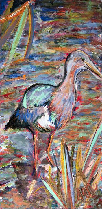 Sea Bird - Decorative Impressions by Ann Lutz