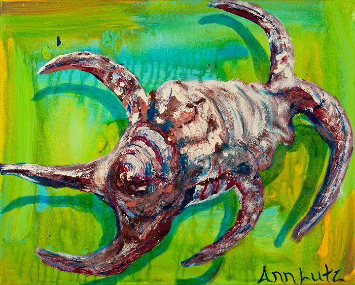Spike Conch - Decorative Impressions by Ann Lutz