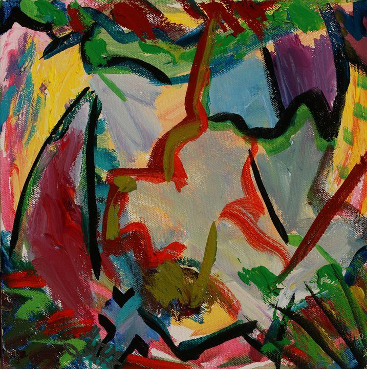 Jagged - Decorative Impressions by Ann Lutz