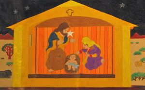 The Birth of Jesus - Mr.Tryart'sGallery