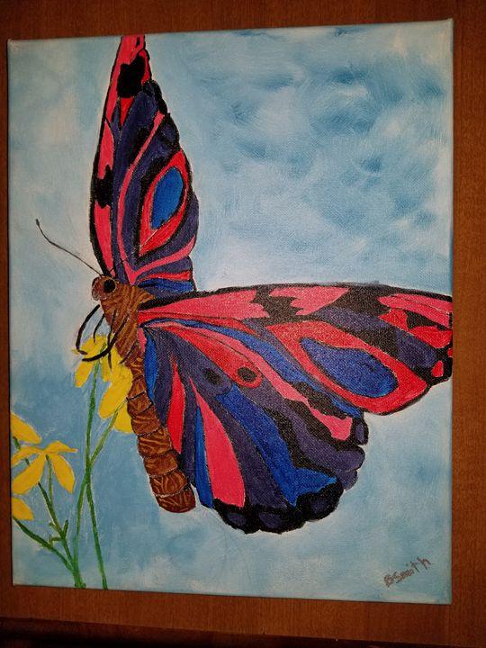 Wild NY Butterfly! - Brooke Smith