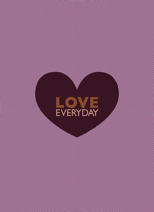 LOVE EVERYDAY - Peter Bagdonas