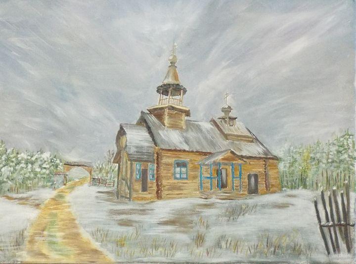 Chapel in the evening - Marina C